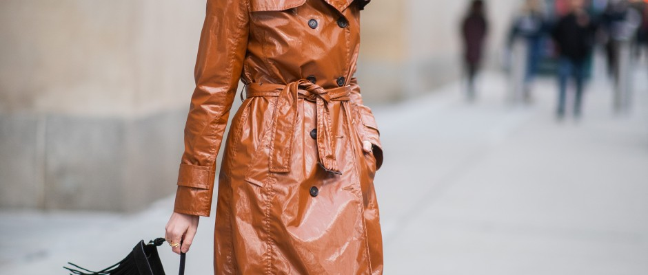 Trench coat vernis Marc Cain