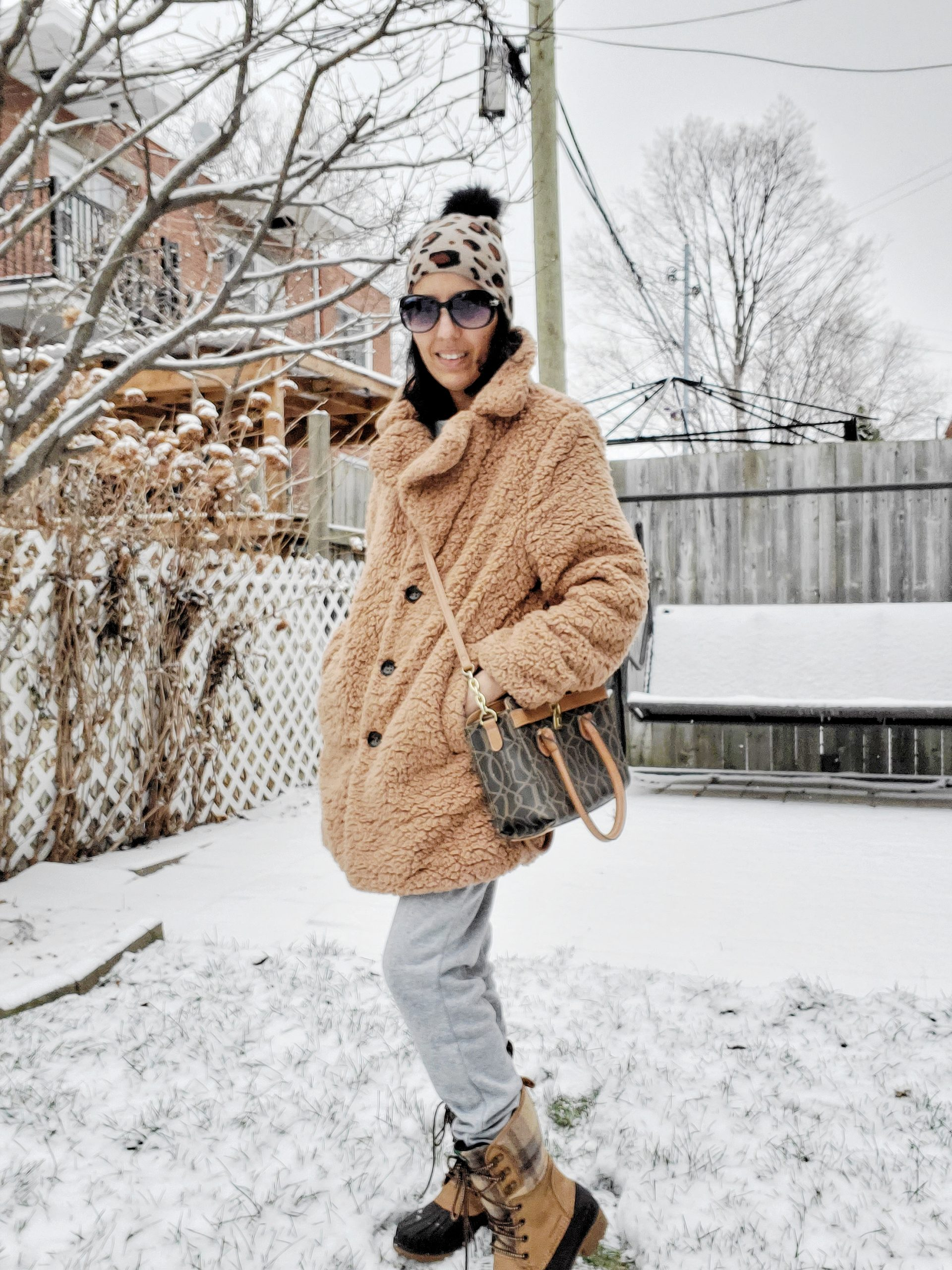 Look hiver stylé